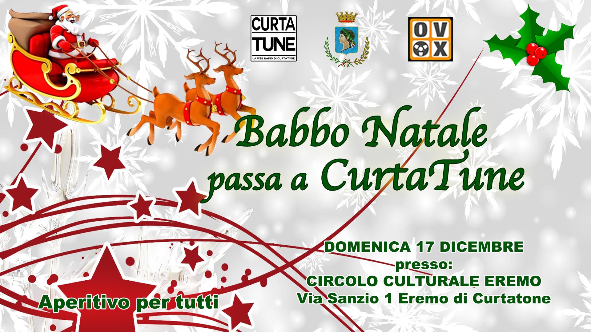 BABBO NATALE PASSA DA CURTATONE!
