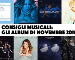 Consigli musicali: gli album di novembre 2018